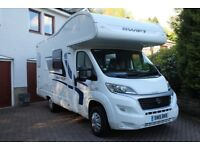 2015 Swift Escape 624 motorhome, one owner from new, low mileage, in immaculate condition.