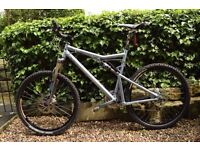 Santa Cruz XC Blur MTB with FULL Shimano XTR, amazing spec, excellent condition, size Large