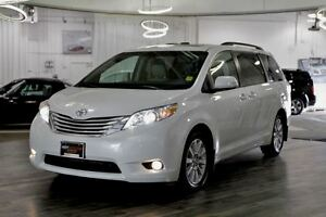 2013 Toyota Sienna Limited AWD, 7 passenger, Nav., DVD, Back up