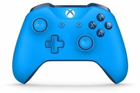 XBOX ONE BLUE VORTEX CONTROLLER WITH AUX PORT (2016/2017)