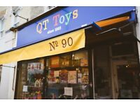 Sales Assistant in Toy Shop, near Clapham Junction. Full Time!