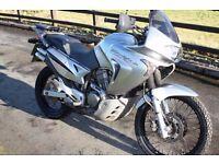 Honda Transalp XL650V. 2005. Low mileage. Long MoT. Lots of Extras. Adventure bike