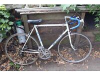 Bianchi sprint vintage racing bicycle bike white - not single speed