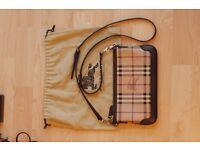 Burberry 'Haymarket Check' Crossbody Bag Peyton 3798971