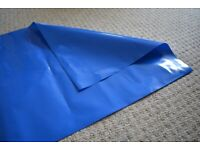 Blue 500g Rubble Sacks / Polythene Rubbish Bags 18 x 30 inches; (48cm x 76cm) from £6 for 50.