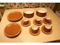 "Hornsea ""Saffron""Tableware"