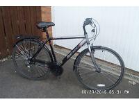 "Apollo Belmont Mens Hybrid Bike (Lightweight 21"" Frame)"