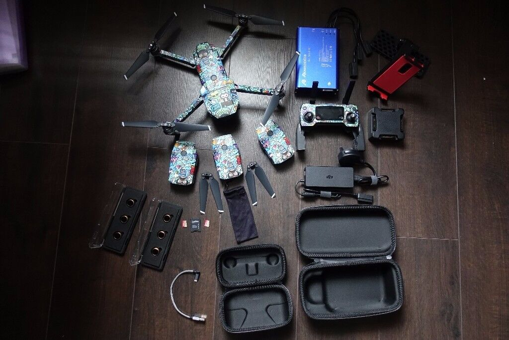 DJI Mavic Pro UNLOCKED, NO RESTRICTIONS, 4 Batteries, Polar Pro Filters +  More | in Leicester, Leicestershire | Gumtree