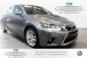 2015 Lexus CT 200h TOURING CT200H, CUIR, TOIT OUVRANT, GROUPE TO