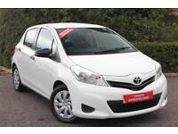 Toyota Yaris VVT-I T2 (white) 2012-02-10