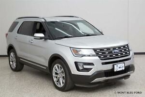 2016 Ford Explorer Limited, LEATHER, ROOF, BACK-UP CAM