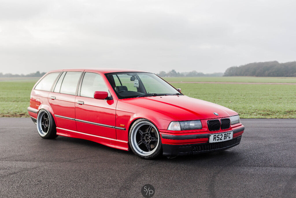 1997 bmw e36 touring 318i hellrot red in hemel hempstead hertfordshire gumtree