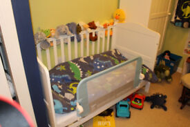 matching mothercare cot and cupboard