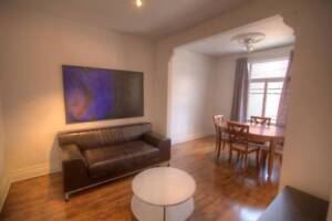 Fully Furnished 1 Bedroom Bibaud- Flexible Lease