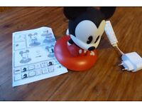 Mickey Mouse softpal portable light.