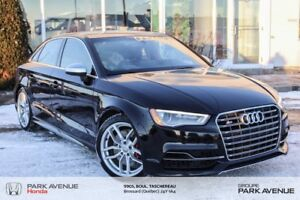 "2015 Audi S3 *AWD*Mags 19""* 292 Chevaux*Suspention Magnetic*"