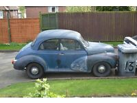 RAT TYPE MORRIS MINOR 1098 WONDERFUL PATINA MOT LATE SEPT TAX EXEMPT