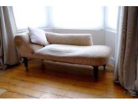Antique Edwardian Chaise Longue
