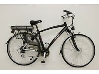 GREENWAY Electric City bike 700C,Samsung cell Li-ion battery,8FUN front motor. £750