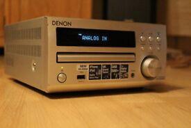 Denon RCD-M40 DAB CD Receiver stereo mini Hi-Fi system in Silver