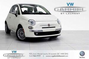 2013 Fiat 500 Lounge JAMAIS ACCIDENTE! FINANCEMENT DISPO!