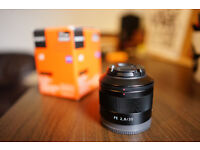 Sony Zeiss Sonnar FE 35mm f/2.8