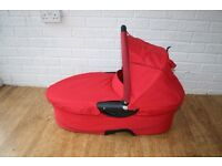 Red Quinny buzz Dreami CARRYCOT ***can post**