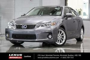 2013 Lexus CT 200h TOURING; CUIR TOIT MAGS LOW MILEAGE - 4.6L /