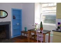 Small, self-contained flat in central Edinburgh for a single person or a couple.