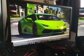 "28"" XB281HK Acer Predator NVIDIA G-Sync 4K Gaming Monitor"
