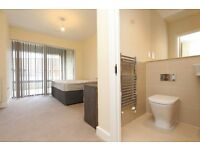 BEAUTIFUL MODERN DOUBLE EN-SUITE room with BALCONY in NORTH GREENWICH. ALL INCLUDED