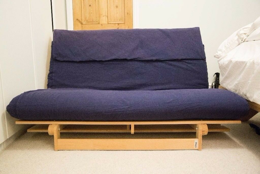 Ikea Grankulla Timber Double Futon Lounger In Croydon London