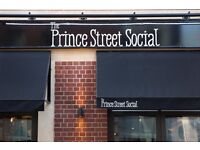 Sous Chef - The Prince Street Social - fresh food! > £25k plus tips + paid holiday + profit Share +