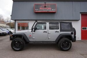 2013 Jeep WRANGLER UNLIMITED SPORT 4X4 AUTOMATIQUE A/C TRÈS BEAU