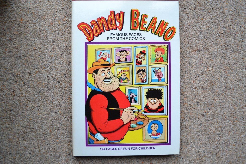 2 Special Edition Vintage Dandy And Beano Books From 1980s1990s