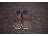 Childrens Little Brown Boots (Size 4)