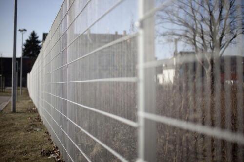 Lagerverkauf 12 5 M Ds Zaun In Feuerverzinkt Hohe 1 23 M In Hessen