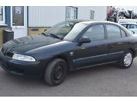LEFT HAND DRIVE MITSUBISHI CHARISMA, DRIVES VERY WELL,ENGINE&MECHANICS GREAT,PAPERS SORTED.CALL MARC