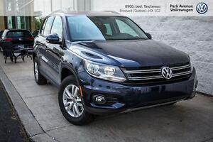 2016 Volkswagen Tiguan Trendline PROMO 92$ / semaine financement