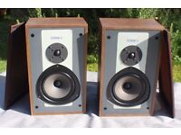 A Pair of Vintage Kef Coda II 50w 8ohm Stereo Speakers Coda 2 Boxed