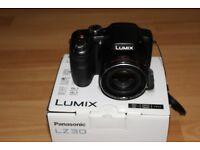 Panasonic Lumix LZ30 Camera and Bag