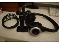 Logitech ClearChat Wireless Headset/Headphones - Ideal for Gaming/Music and Movies