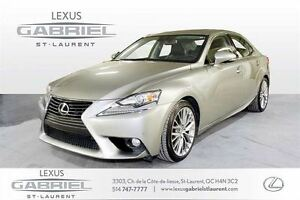 2014 Lexus IS 250 AWD DE LUXE TOIT OUVRANT+NAVIGATION+CAMERA DE