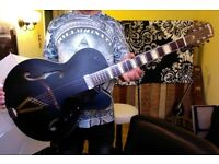 Gretsch Synchromatic, black, as good as new