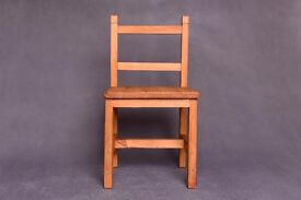 Wooden handmade chair, toddlers, baby photo props, for photographers, wood decoration, chair prop