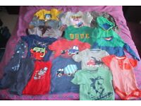 Boys 18-24 month tops, jumpers and pj's.