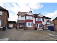 A beautiful five bed semi-detached house with modern furnishings and garden with off street parking