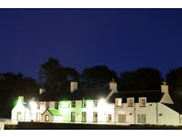 General Assistant or Assistants required for Highland Hotel.