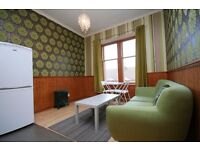 1 Bed Furnished 3rd Floor Apartment, Shettleston Rd