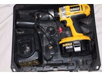 Dewalt 18v Power Tools - Combi Drill, Impact Driver, Circular Saw, Batteries, Chargers, Cases